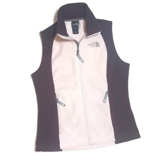 Small THE NORTH FACE Fleece Vest Pink/Wine